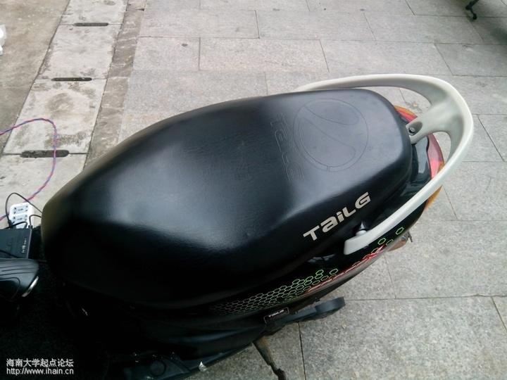 出售台玲电动车 有牌有照 生活信息 海南大学论坛 起点论高清图片