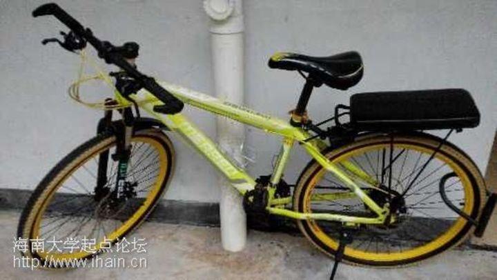 转手带后座自行车图片
